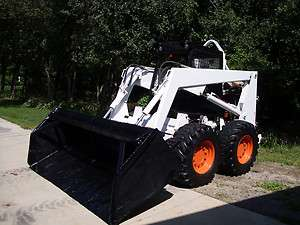 Bobcat 974 Skid Steer Loader   Snow Plow