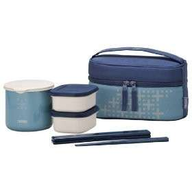 JAPAN THERMOS Lunch Box Set Lunch thermos DBP 252 IBL