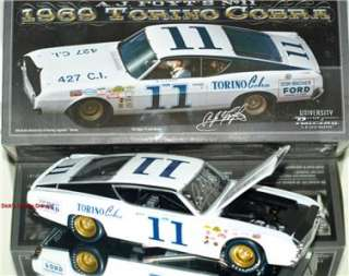Foyt Signed 1969 #11 Ford Torino Cobra LIMITED EDITION!! 1/24