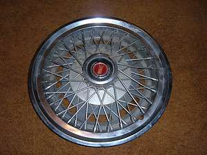 77   79 FORD LTD 77 80 GRANADA WIRE SPOKE HUB CAP 14 WHEEL COVER