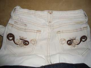 LOTOF 5 JEANS MISS ME TRUE RELIGION CITIZENS OF HUMANITY JOES SIZE 25