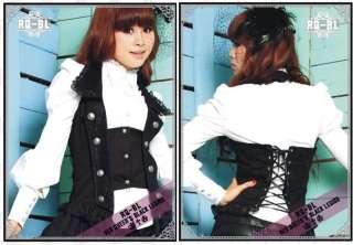 Bluse Jacke RQ BL Gothic Lolita Visual Kei Punk RQBL kurz lang
