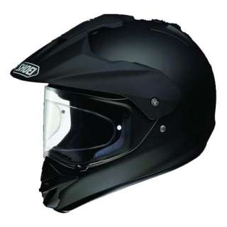 SHOEI HORNET DS DUAL SPORT ADVENTURE MOTORBIKE MOTORCYCLE HELMET MATT