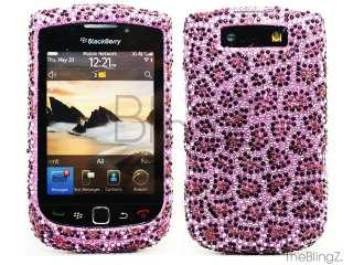 RW Diamond Rhinestone Bling Case Blackberry Torch 9800