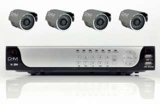 500GB H.264 CCTV SYSTEM RECORDER KIT HOME SECURITY BULL