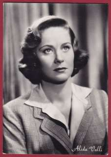 ALIDA VALLI 06 ATTRICE CINEMA MOVIE STAR POLA FOTOGR.