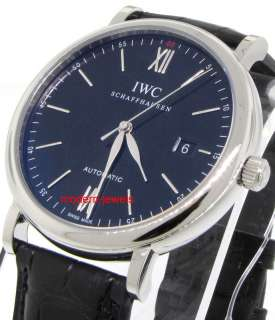 IWC PORTOFINO AUTOMATIC WATCH NEW 2011 MODEL IW356502 !