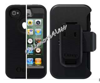OtterBox Defender Series Case Cover W/Belt Holster For Apple iPhone 4S