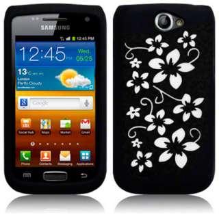 London Magic Store   Black Silicone Flora Case For Samsung Galaxy W