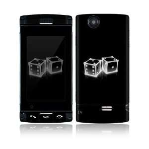 Crystal Dice Decorative Skin Cover Decal Sticker for Sharp
