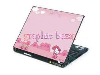 skin cover laptop adesivo pc notebook hello kitty C