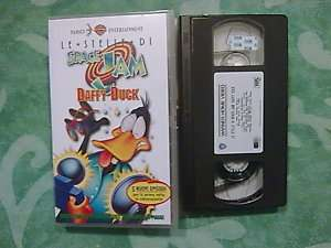 LE STELLE DI SPACE JAM  DAFFY DUCK  VHS