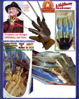 Freddy Krueger GUANTO Orig. Costume Carnevale Halloween