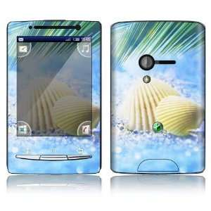 Summer Shell Design Decorative Skin Decal Sticker for Sony