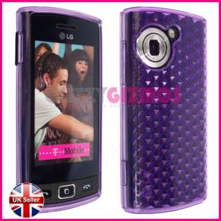 HEX DESIGN GEL SILICONE RUBBER CASE COVER FOR LG VIEWTY SNAP GM360
