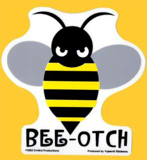 BEE OTCH Decal / Sticker (As seen in Transformers) NEW
