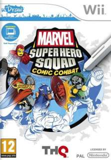 Marvel Super Hero Squad Comic Creator (uDraw)   Wii   ZAV29VH