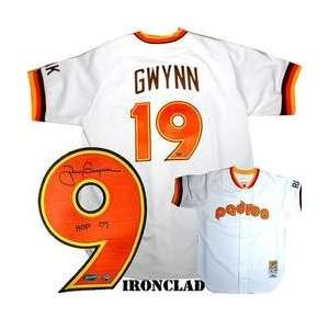 Ironclad San Diego Padres Tony Gwynn Signed 1984 Jersey w