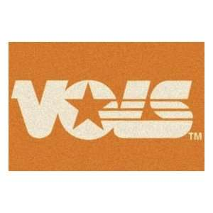 Milliken University Of Tennessee Vols 3 10 x 5 4 orange