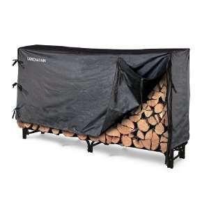8 Firewood Rack w/ Cover: Patio, Lawn & Garden