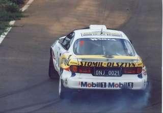 43 Decal Krzystof Holowczyc Rallye Corte Ingles 1996 Toyota Celica