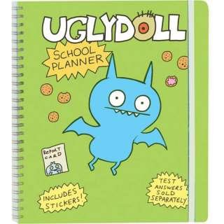 Uglydoll School Planner [With Sticker(s)], Horvath, David