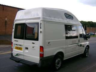 High Roof Conversion for Ford Transit SWB Motorhome Camper Van