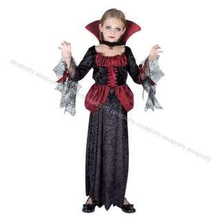 Carnevale Halloween Costume Vampirella Vampiro Vampira Bambina 7   8