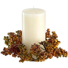 Crate and Barrel   Autumn Berry Candle Ring customer reviews   product