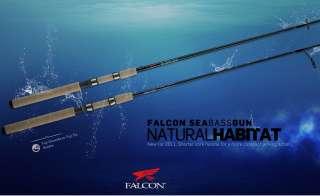 canna SEABASS GUN FALCON per da spinning alla spigola