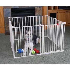 Convertible Pet Yard   28   Gates & Exercise Pens   Dog