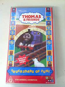 Thomas the Tank Engine   TRUCKLOADS OF FUN VHS VIDEO PAL (ABC