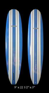 Super Cruiser Longboard 9ft x 22 1/2in x 3in by JK Surfboards