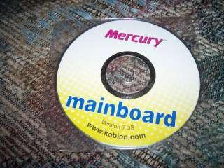 Driver CD Kobian Mercury Mainboard ver 7.3S Win9x/2k/NT/XP