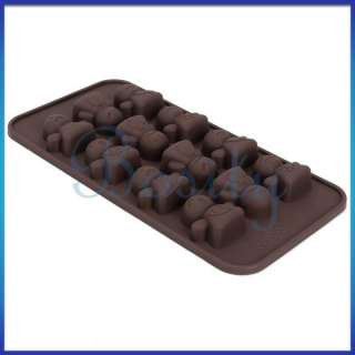 Silicone Chocolate Jelly Candy Cake Ice Cube Mold Tray Mood Face Cute
