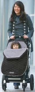 NWT JJ Cole BundleMe Urban Toddler Soho Brown Baby Sack