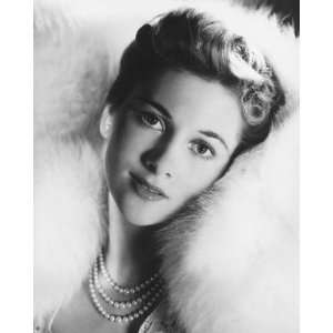 Joan Fontaine 12x16 B&W Photo or Canvas Print Home