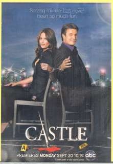 Stana Katic & Nathan Fillion from TVs Castle in 2010 Magazine Print