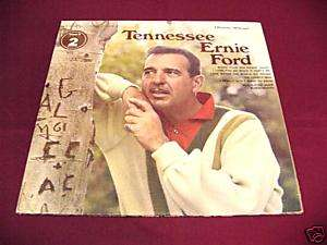 TENNESSEE ERNIE FORD BLESS YOUR PEA PICKN LP 33 1/3 RPM