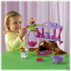 FISHER PRICE LITTLE PEOPLE FAIRY TREEHOUSE NEW