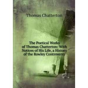 Thomas Chatterton amazon