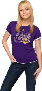 Los Angeles Lakers Womens Out Of Bounds Tissue T Shirt
