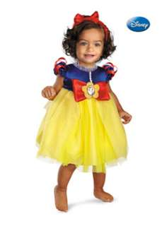 Infant Disneys Snow White Costume  Cheap Cartoon Characters