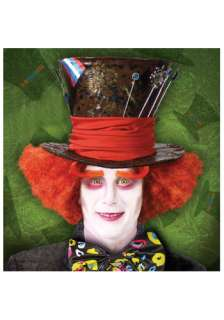Costumes Alice in Wonderland Costumes Alice Accessories Mad Hatter Wig