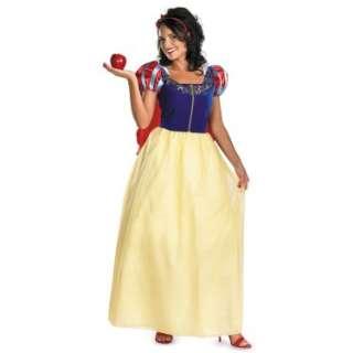 Halloween Costumes Snow White Deluxe Adult Plus Costume