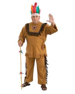 Native American Indian Warrior Adult Costume  Wholesale Indians