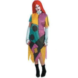 The Nightmare Before Christmas Sally Plus Adult Costume   Colorful