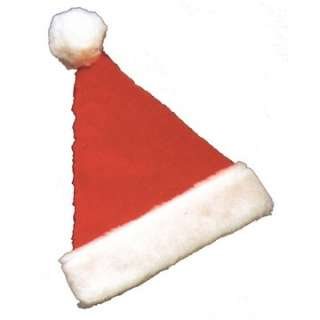 Deluxe Plush Santa Claus Hat   Christmas Costume Hats   15GC118