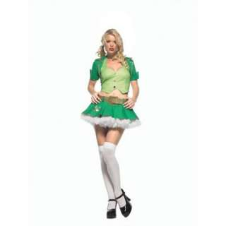 Adult Sexy Lucky Charm Costume   This sexy St. Patricks Day Costume