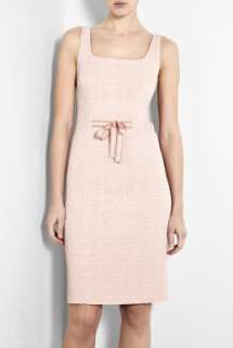 Moschino Cheap & Chic  Pink Crinkle Pencil Dress by Moschino Cheap